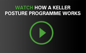 Watch how a Keller Posture Programme works