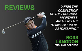 Ross Langdon, England Golf Pro